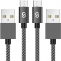 Syncwire 2m Micro-USB Ladekabel